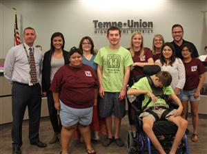 MDN Best Buddies honored at Governing Board Meeting